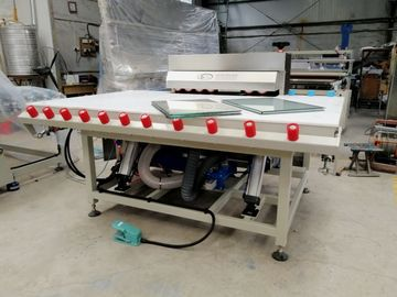 Singola Tabella laterale della stampa del rullo heated dell'attrezzatura del doppi vetri con il galleggiante & la inclinazione dell'aria